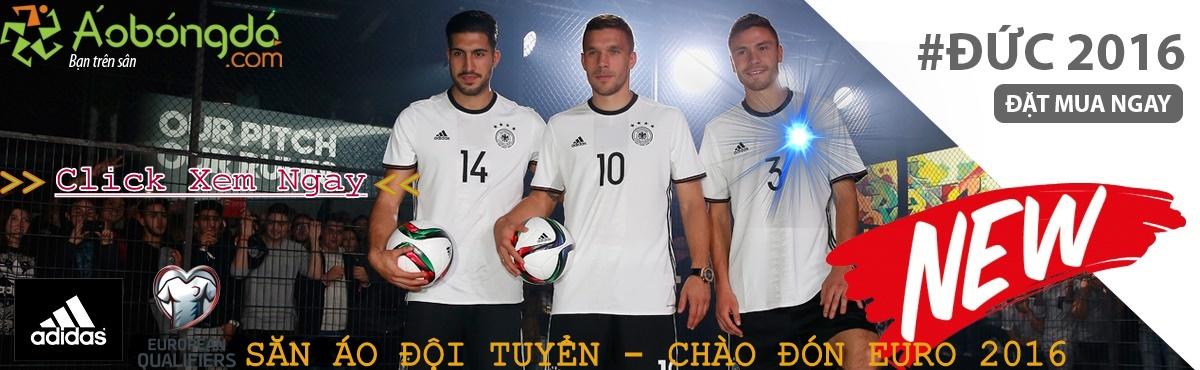 Quần áo bóng đá đội tuyển Euro 2016 Cực Đẹp - Cực Chất