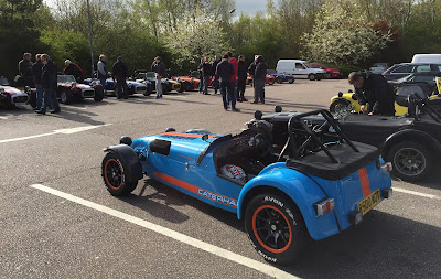 Around thirty Caterhams' met at Maidstone services for the blat to Folembray, France