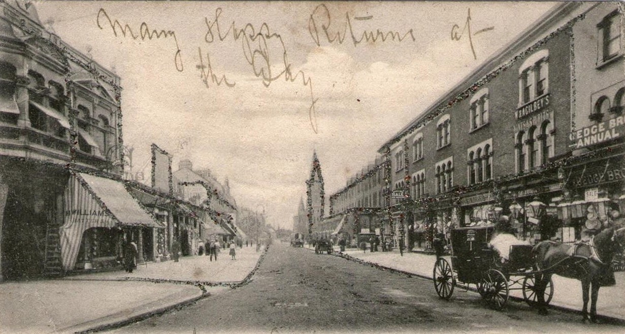 E7 Now Amp Then Woodgrange Road In 1900 East Side