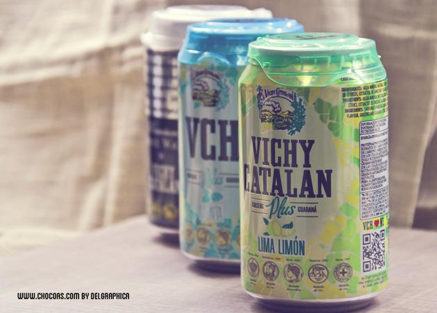 Vichy catalán plus - nueva linea refrescos