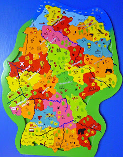 Map of Dutch Land