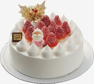 Random Thoughts: Memories of Japan: Christmas Cake