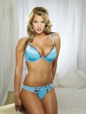 hottie in blue