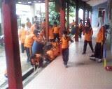 Kerja Bakti Sebelum UAS Ganjil 2012/2013