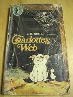 battered copy of Charlotte's Web