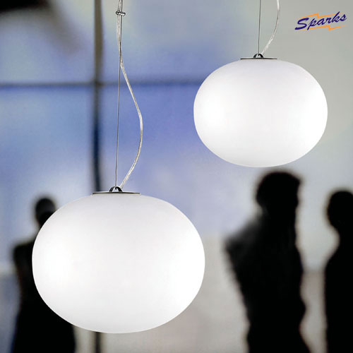 Flos Glo-Ball S1 Pendant Light in Exhibitions