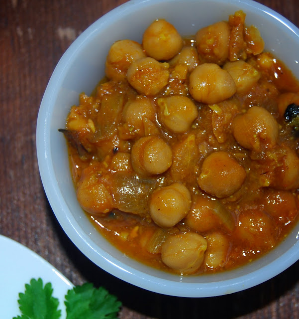 Spicy Chickpea Sauce