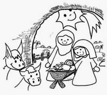 Blog de los niños: Dibujos infantiles de Navidad para colorear