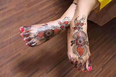 Mehndi Wallpapers Feet : Bridal mehndi designs latest feet