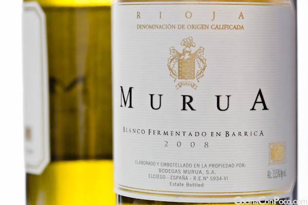Murua - Tinto Reserva 2004 - Blanco fermentado en barrica - Masaveu Bodegas