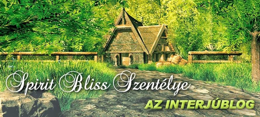 Spirit Bliss szentélye - Az interjúblog