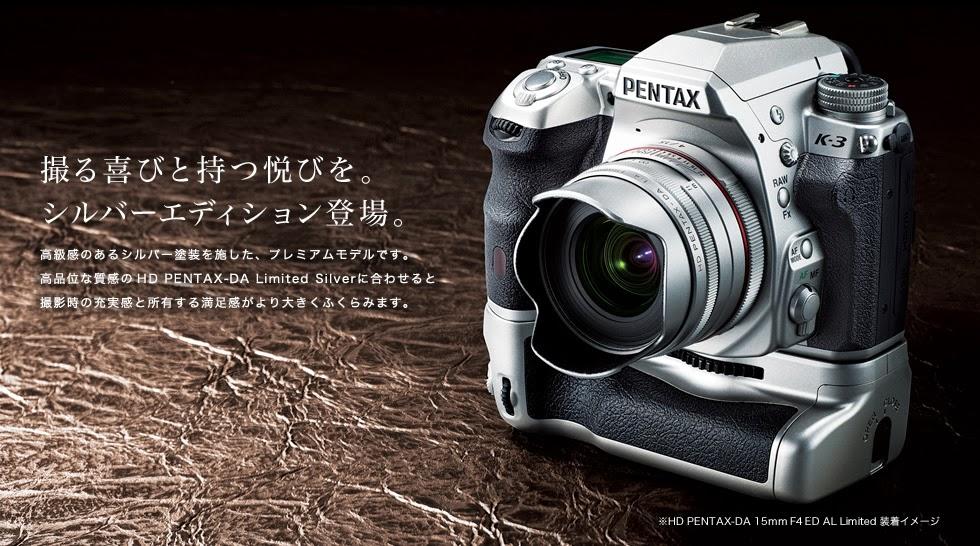 お気に入りのK-3へ SILVER HD Macro 35mm