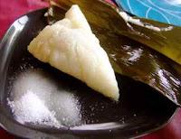 Boiling Chinese zongzi
