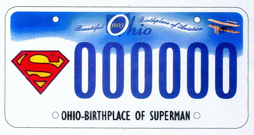 Conscience of a Conservative: New Superman license plate in Ohio ...