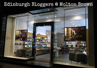 Edinburgh Bloggers exclusive event at Molton Brown, Edinburgh