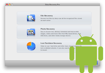 How to recover files from android devices on mac