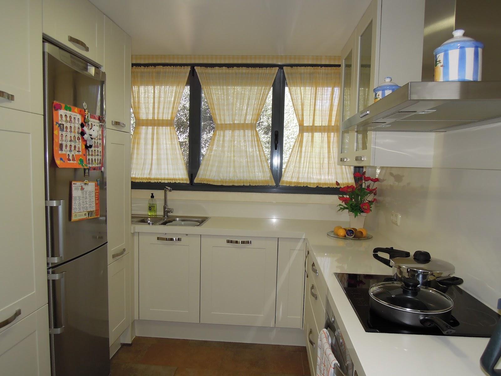 Fotos de cortinas for Visillos para cocina confeccionados