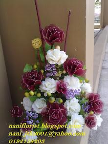 Jambangan Bunga Ros