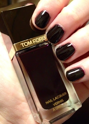 Tom Ford, Tom Ford Beauty, Tom Ford Black Cherry Nail Lacquer, nail polish, nail varnish, #ManiMonday, Mani Monday, manicure, nails