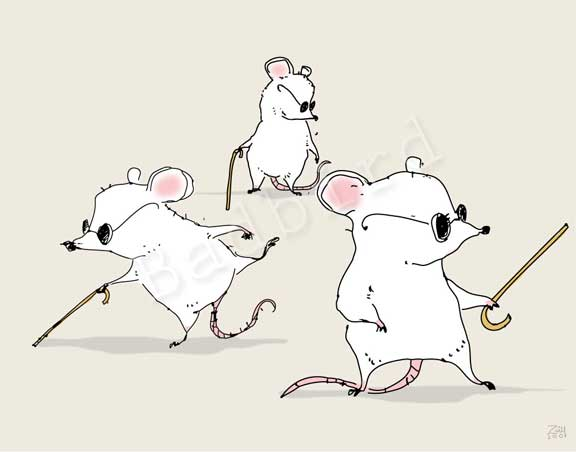 analysis of 3 blind mice The music when you sing the song, you will notice that it is rather static: it all revolves around four notes these notes form a major chord, a basic structure in western music.