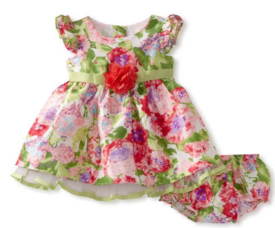 vestido de fiesta infantil: