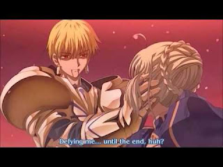 Gilgamesh apaixonado por Saber