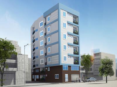 Phối cảnh tòa chung cư mini Nhật Tảo 7 giá rẻ Hanoiland
