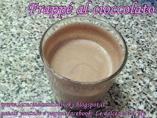 frappe' al cioccolato (+ video ricetta)