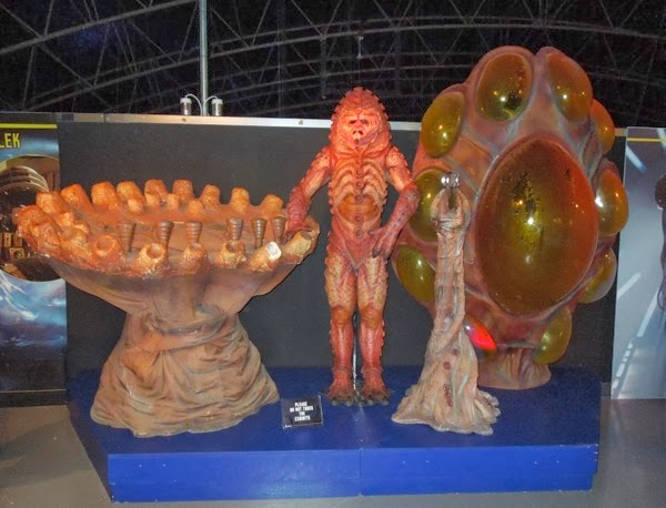 Doctor Who Zygon costume props