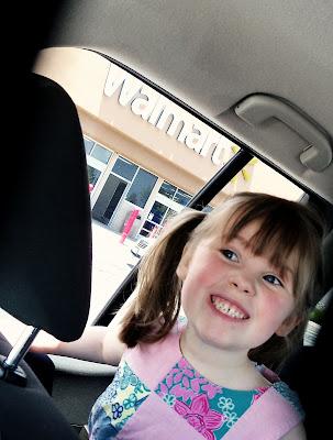 Amber at Wal*Mart