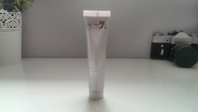 A tube of Helen E Cosmetics stage foundation in the shade Monroe