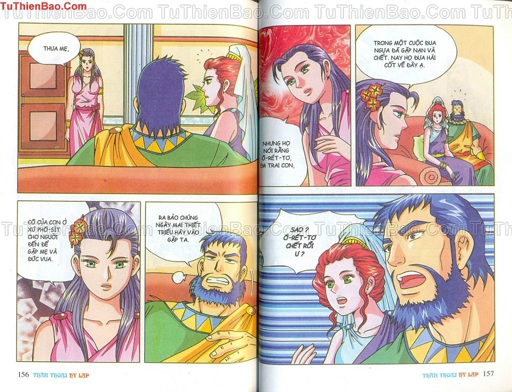 Thần thoại Hy Lạp Chapter 14 - Trang 77