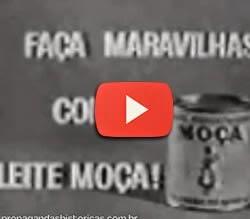 Propaganda do Leite Moça nos anos 60.