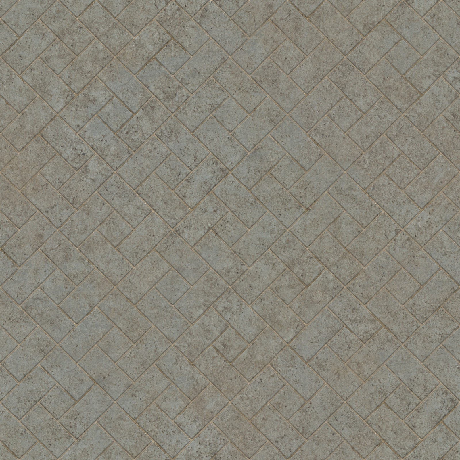 Brick pavement diamond tiles seamless texture 2048x2048