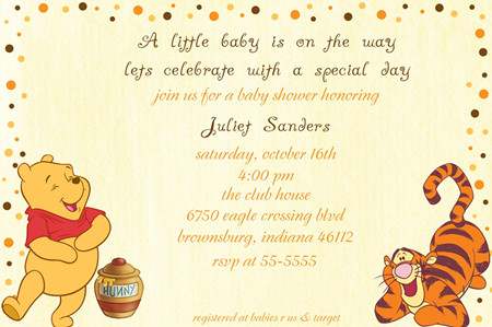 cute winnie the pooh baby shower invitations aidenwilsonaa