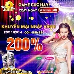 iOnline Khuyen Mai Hom Nay