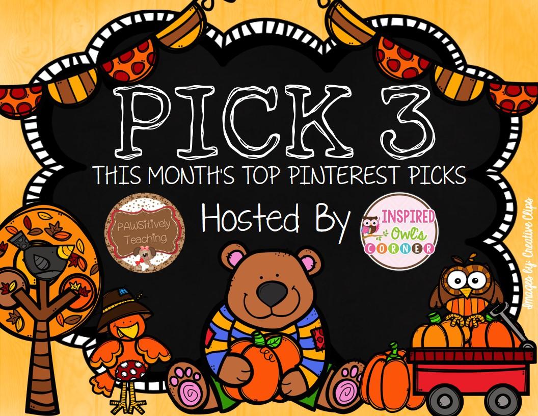 October Pinterest Pick 3