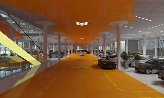 Mall Autopia Europia penjualan mobil terbesar 7