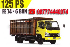 MITSUBISHI - FE 74 S 125 PS 6 BAN,BAK KAYU