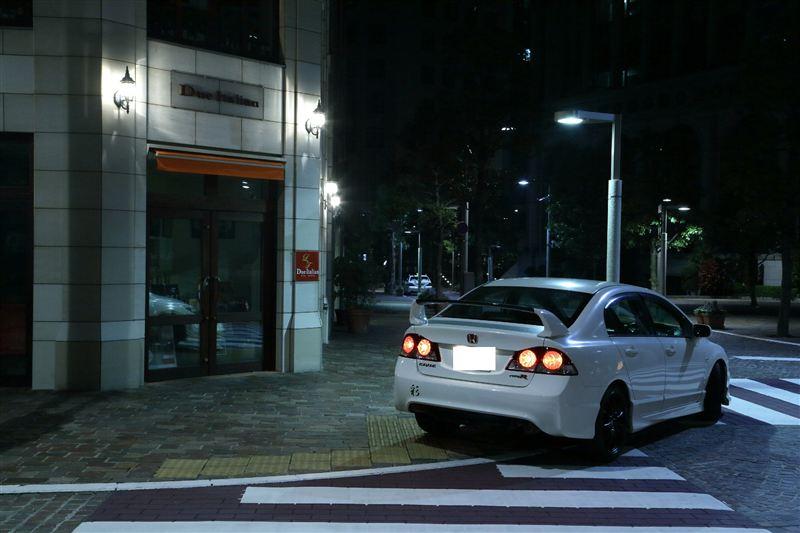 Honda Civic Type R FD2, japoński sportowy samochód, sedan, JDM, tuning