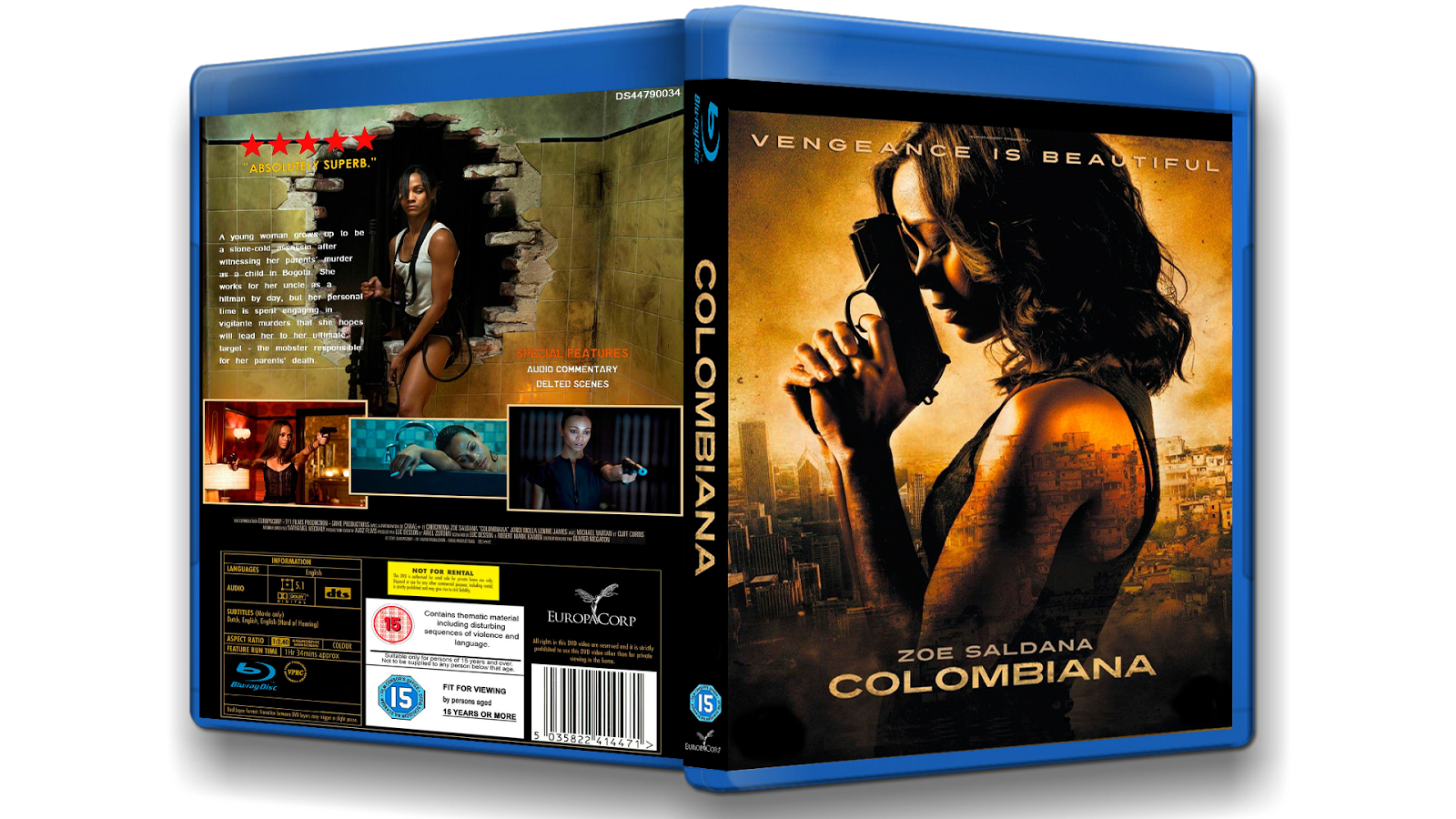 Colombiana 2011 l Latino HD