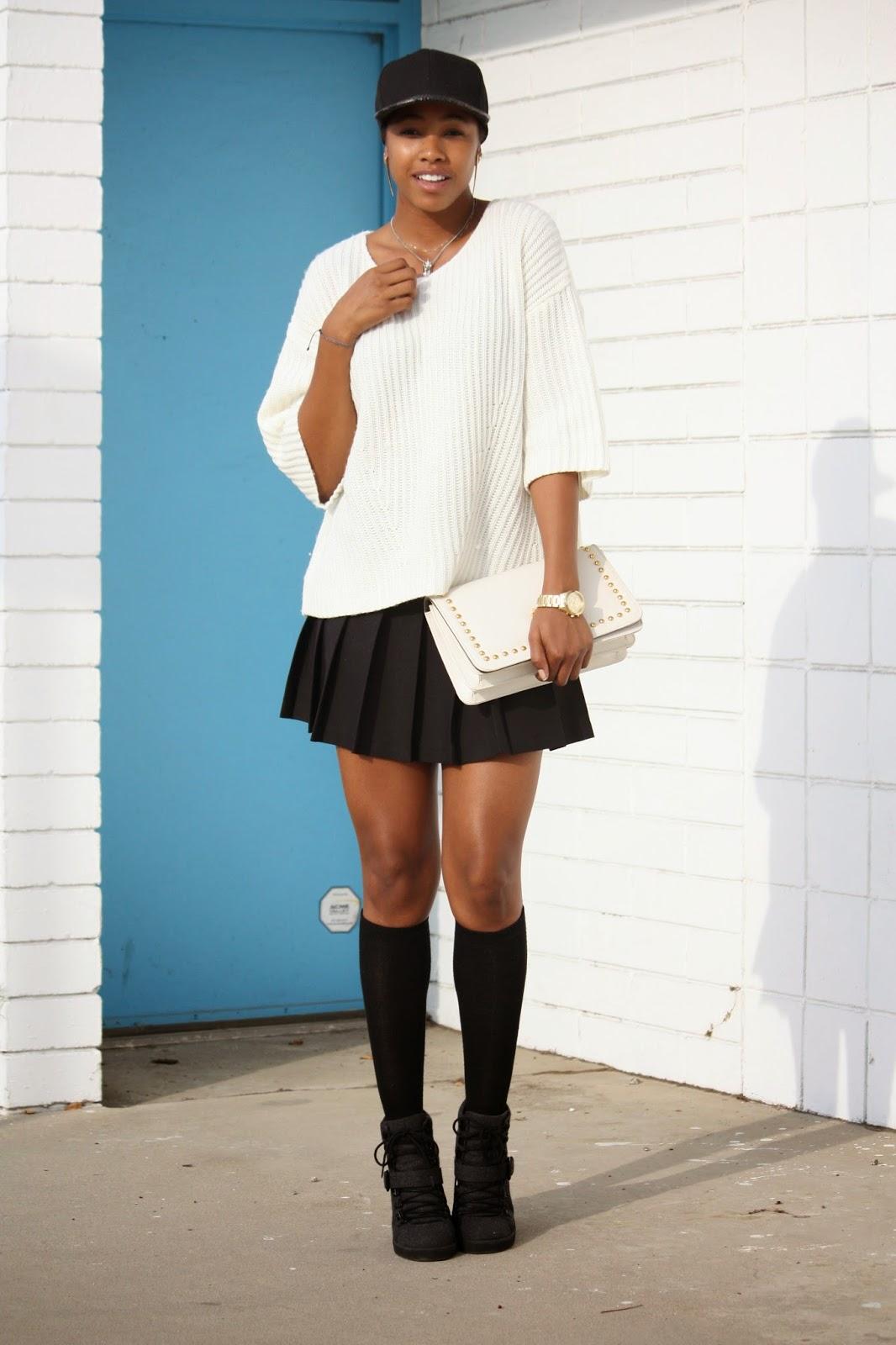 skirt and heels Tennis