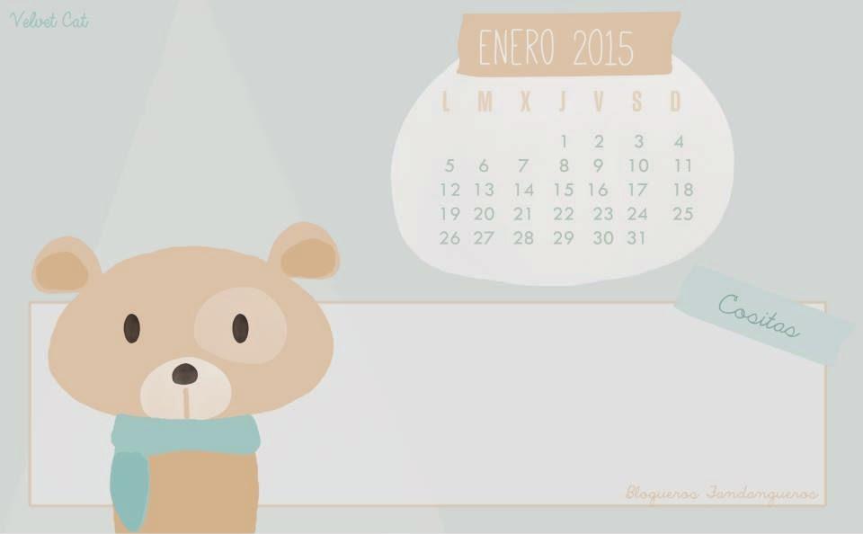 calendario de Enero dos