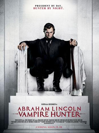 Filme Poster Abraham Lincoln – Caçador de Vampiros TS XviD & RMVB Legendado