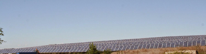 Huge solar farm