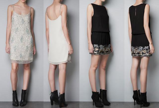 vestidos de zara nochevieja 2012 2013