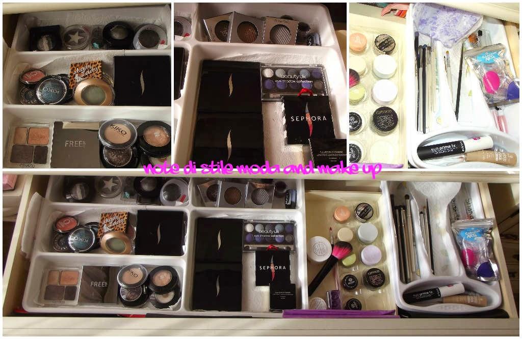Note di stile..° moda and make up °: la mia postazione make up