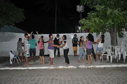Encontro Jovens Católicos e Comunidade Obra de Maria - Evangelizando na rua.