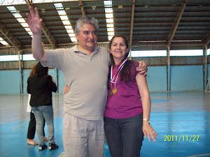 Susana, la goleadora del torneo