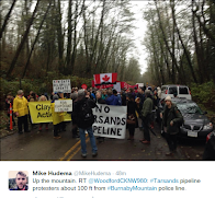 Livestream Arrests at Burnaby Mountain: No Tarsands Pipeline